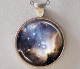 Cosmic Necklace -Star Cluster NGC 602 in Small Magellanic Cloud- Galaxy Series