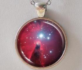 Nebula Necklace - Christmas Tree star cluster and the Cone Nebula - Galaxy Series