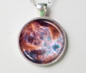 Planetary Necklace -Nebula NGC 2440 - Galaxy Series